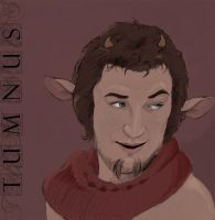 Tumnus of Narnia by LePipsqueak