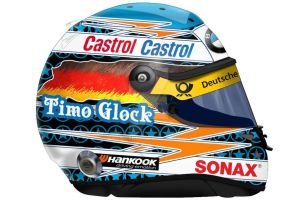 Timo Glock DTM Helmet by engineerJR
