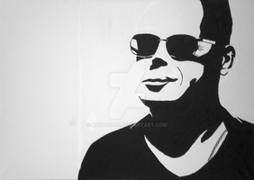 Bruce Willis Sun Glasses by Kowagari