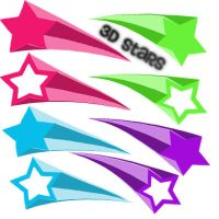 3D stars BQ by ohperfectswift