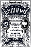 Thee Bluebeard Show Poster by Galindorf