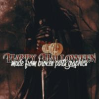 Made from Broken Parts Graphics Halloween Icon by OriginalTequila