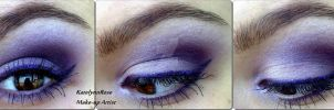 Lilac make-up look by KatelynnRose