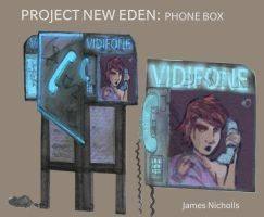 Phone booth future by DeadArmour