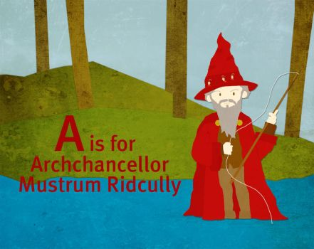 A is for Archchancellor by whosname