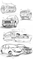 Anthro-Car Compilation by SnowKITT