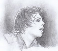 Gerard Way by SCRiBBLeFoHSHiZZLe