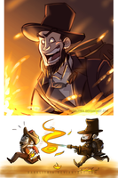 TF2: 1800s pyro by DarkLitria