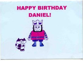 Happy Birthday Daniel by EmmalovesEdwardxxx