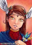 ACEO - Valkyrie by firedaemon