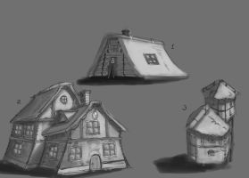 Book Cover Houses by HamsterEagleHunter