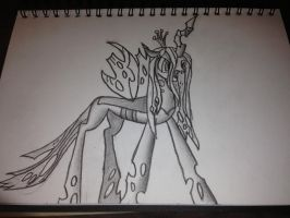Queen Chrysalis by Lethal-Doorknob