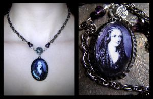 Mary Shelley Pendant Necklace by dustfae