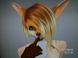 Tan Fox 3D model by YukaFox19