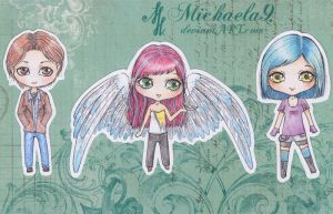 Chibi giveaway by Michaela9