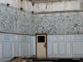 Ruins - old mosaic walls by Redilion