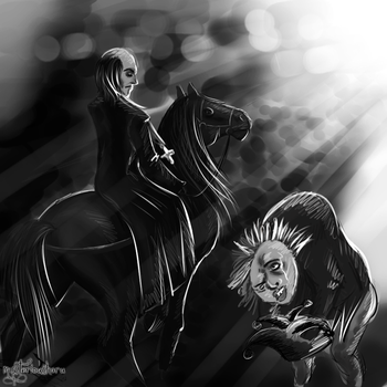 The Dog and His Master by mysteriousharu