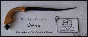 Prop Wand: Oakroot by Sathiest-Emperor