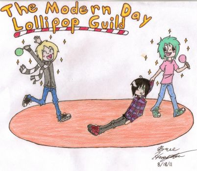 The Modern Day Lollipop Guild by Firefly1713