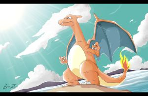 Day at the beach by EspadaZero