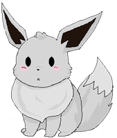 shiny eevee by Death-by-Sake