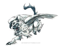 Mega Absol by kenket