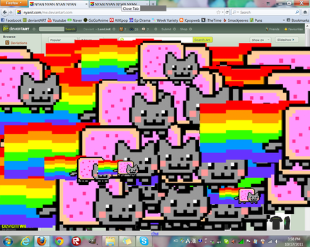 NYAN CAT ATTACK by 1amLinK