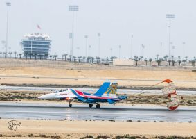 Bahrain - Russian Flanker su 29 - BIC VIP Tower by Khalid-AlThawadi