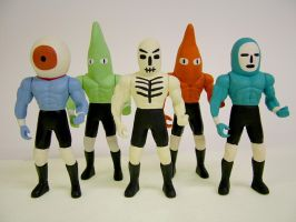 Wrestling Action Figures 4 by Teagle