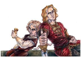 Lannister brothers by ProKriK
