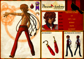 Praxeum Academy- Theodris by Miha-Hime