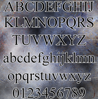 TNR Alphabet Brushes by shanebob