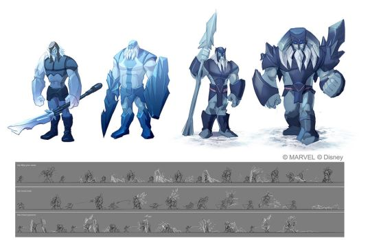 Disney Infinity 2.0 - Frost Giants by OmenD4