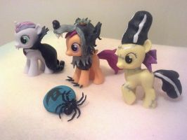 Nightmare Night CMC Customs by NerdyMind