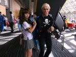 Kanji and risette persona 4 cosplay by KingOfJin