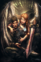 The Last Demon Hunter - Book Cover by samwdean