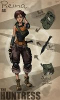 Borderlands OC: The Huntress by Tekka-Croe