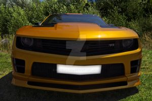 Close up -1   Camaro TF3 by blueMALOU
