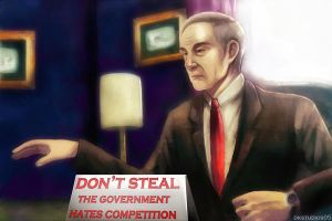 Ron Paul COMMISSION by DKSTUDIOS05