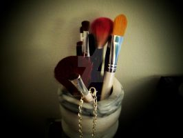 Makeup Brushes by SupernovaSword