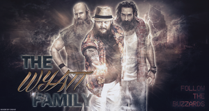 The Wyatt Family Wallpaper by BeliveInTheShield