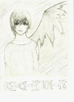 Light Yagami, The Death God by xJeffThePshycoKiller