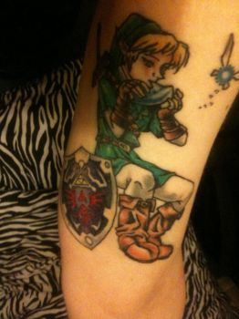 My Link --Legend of Zelda-- tattoo by plastic-anime