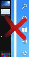 Disable Charms bar and Switcher in Windows 8 by hb860