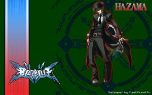 BlazBlue Hazama Wallpaper by FlashFumoffu