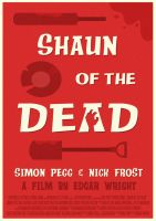 Shaun of the Dead Poster (Updated) by W0op-W0op