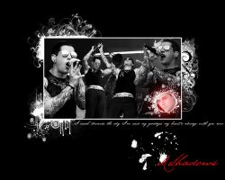M Shadows Wallpaper by dreamyvale