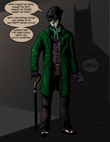 The Riddler by ColinWilsonArt