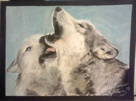 Wolf Mates by SkiAr7sy