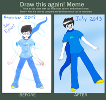Before After: John Egbert by ForeverMuffin